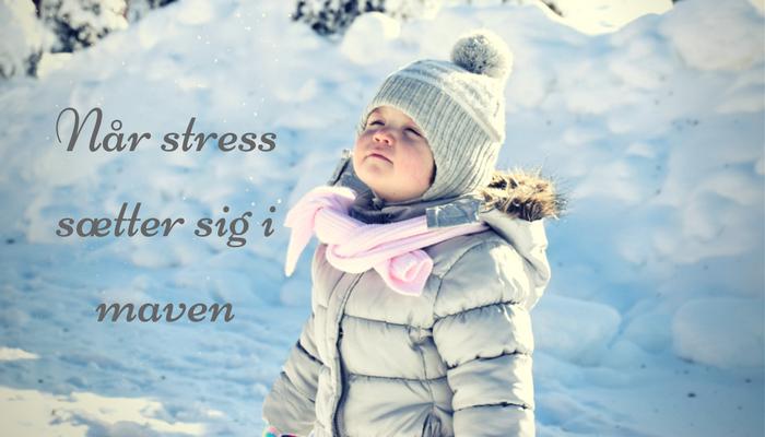 Når stress sætter sig i maven